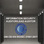 Information Security Auditor/Lead Auditor – UNI CEI EN ISO/IEC 27001:2017